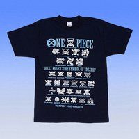 From TV animation ONE PIECE ラメ海賊旗Tシャツ