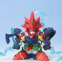 BB戦士256 円従烏賊と火威獣丸(マルジュウイカとカイジュウマル)