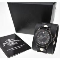 TIGER & BUNNY x red monkey designs Collaboration Wristwatch バーナビー・ブルックスJr. Black