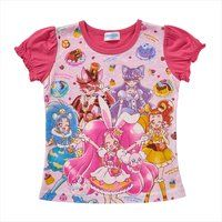キラキラ☆プリキュアアラモード キリンミルクレープ付きTシャツ