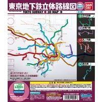 東京地下鉄立体路線図 東京メトロ編(後編)