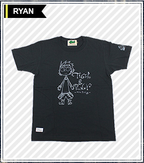 TIGER&BUNNY×HTML ライアンTシャツ Precious Trio Ryan S/S Tee