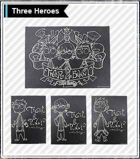 TIGER��BUNNY The Rising �~ HTML�R���{�@�V�����_�[�o�b�O Precious Trio Shoulder Bag