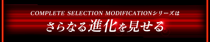COMPLETE SELECTION MODIFICATION�V���[�Y�͂���Ȃ�i����������