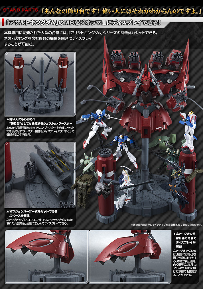 機動戦士ガンダム ASSAULT KINGDOM NEO ZEONG