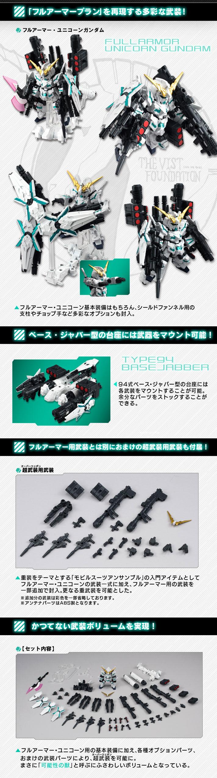 【抽選販売】機動戦士ガンダム MOBILE SUIT ENSEMBLE EX01 フルアーマー・ユニコーンガンダム
