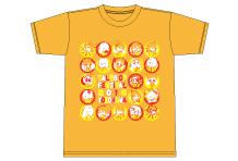 祭りだ集合!Tシャツ(橙)サイズS/M/L