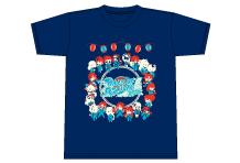 祭りだ集合!Tシャツ(紺)サイズS/M/L