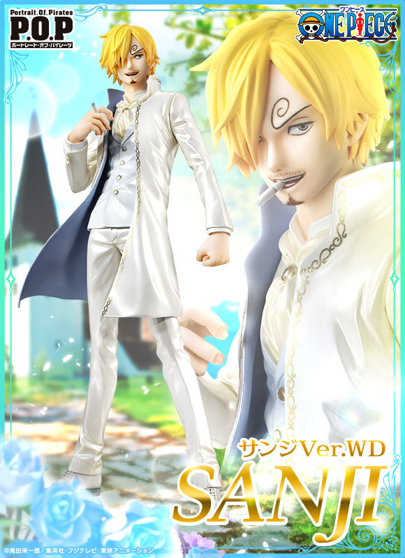 P.O.P. ONE PIECE LIMITED EDITION SANJI VER.WD