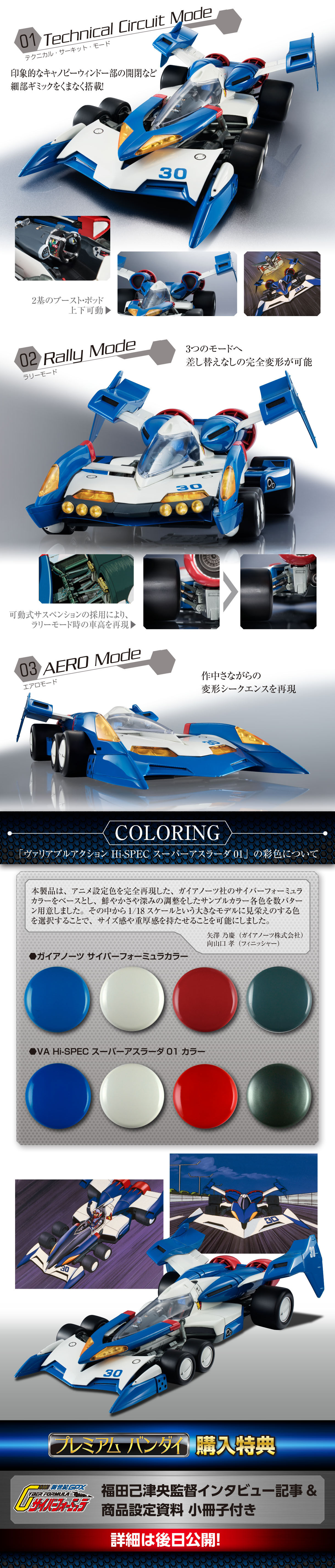 HI-SPEC 1/18 SUPER ASURADA 01