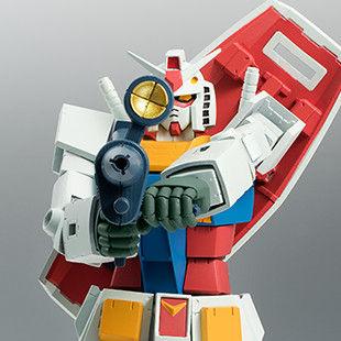 ROBOT魂 <SIDE MS> RX-78-2 ガンダム ver. A.N.I.M.E. 〜ファーストタッチ2500〜