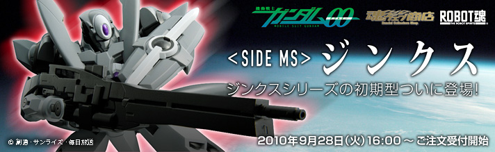 魂ウェブ商店 プレミアムバンダイ店 ROBOT魂 <SDE MS> ジンクス