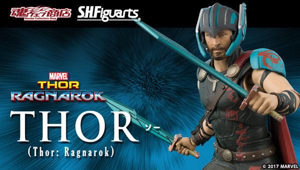 魂ウェブ商店 プレミアムバンダイ店  S.H.Figuarts ソー (Thor: Ragnarok)
