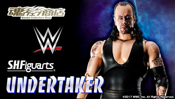 魂ウェブ商店 プレミアムバンダイ店  S.H.Figuarts Undertaker