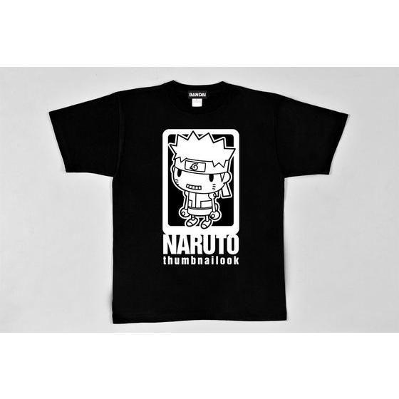 NARUTO-ナルト- 疾風伝 Tシャツ さむねいるっくナルトBIGプリント