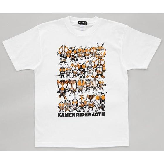 仮面ライダー1号ー仮面ライダーオーズデフォルメ柄Tシャツ