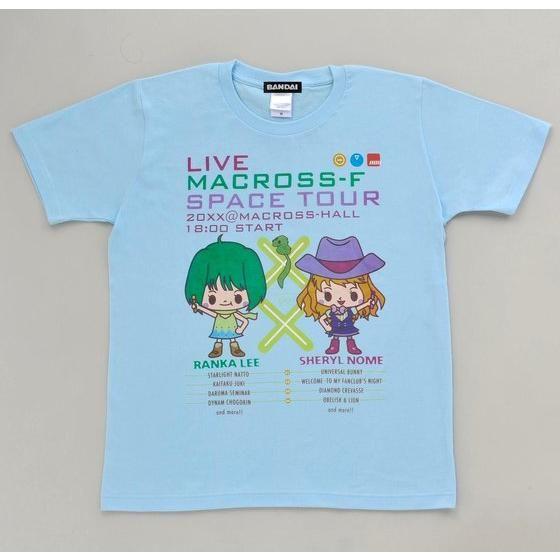 劇場版マクロスF ARTIST COLLECTION Tシャツ DEVILROBOTS
