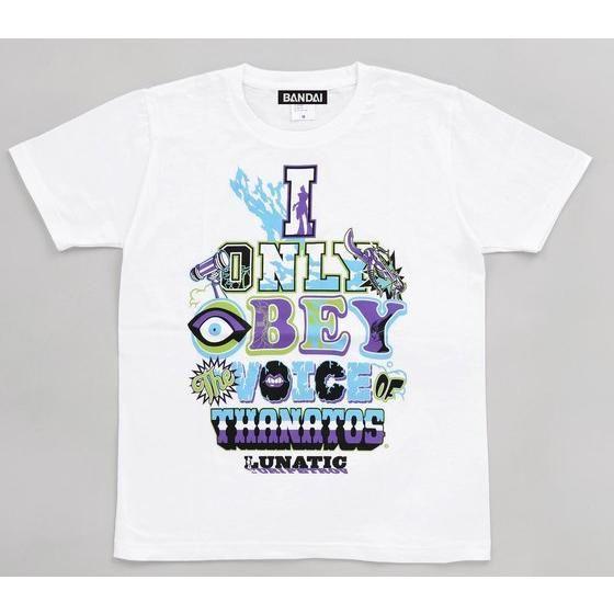 T & B ルナティック柄ロゴTシャツ