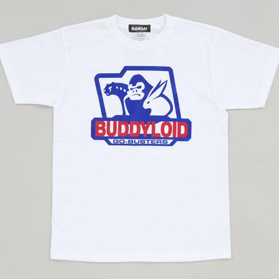 特命戦隊ゴーバスターズ Tシャツ バディロイド柄