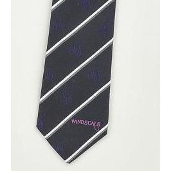 WIND SCALE ネクタイ ストライプ柄 レッド、ブラック、ラベンダー、ネイビー