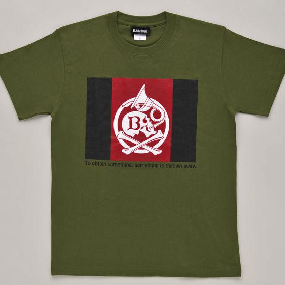 海賊戦隊ゴーカイジャー バスコの旗柄T-SHIRT
