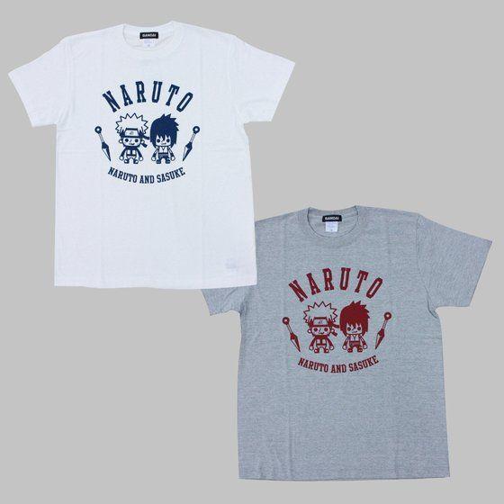 NARUTO-ナルト-疾風伝×Panson Works Tシャツ カレッジ風Tシャツ