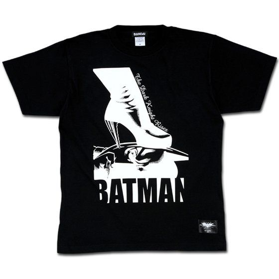 バットマン ダークナイトライジング バットマン&ハイヒールTシャツ
