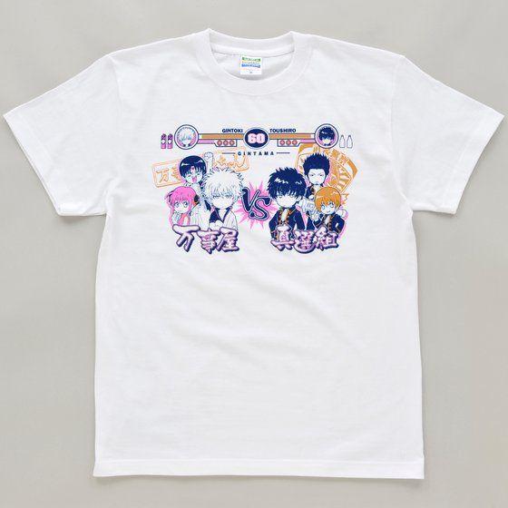 銀魂 Tシャツ 万事屋VS真選組柄
