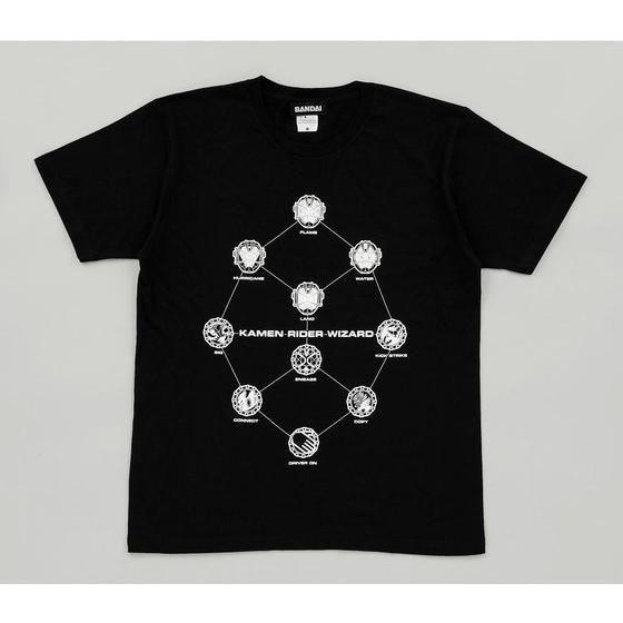 仮面ライダーウィザードリング柄Tシャツ