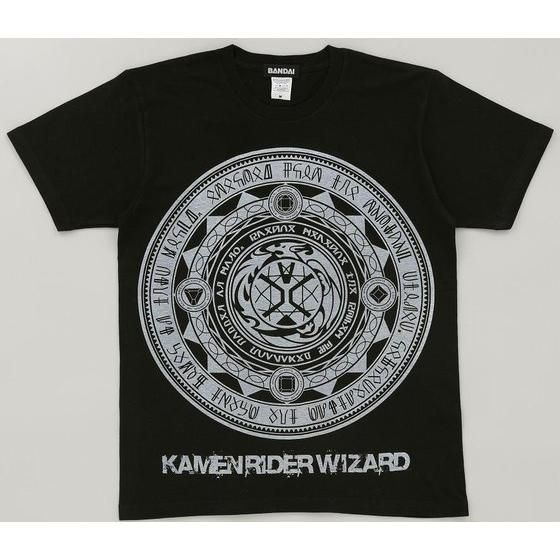 仮面ライダーウィザードTシャツ 魔法陣ビッグプリント柄