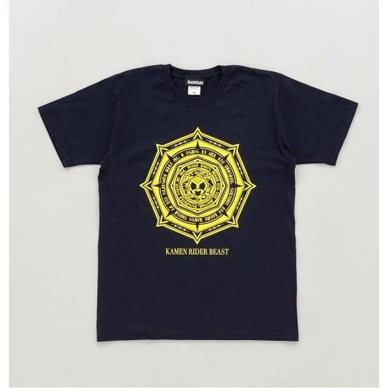 【仮面ライダーウィザード】 仮面ライダービースト魔法陣柄Tシャツ