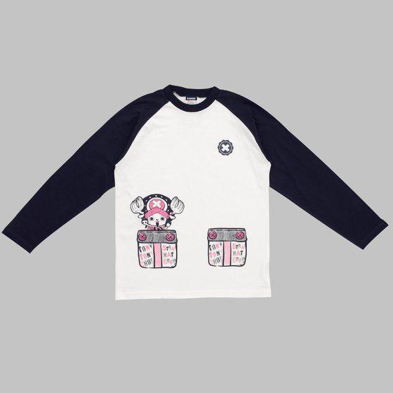 ワンピース Tシャツ チョッパーinポケット 七部袖