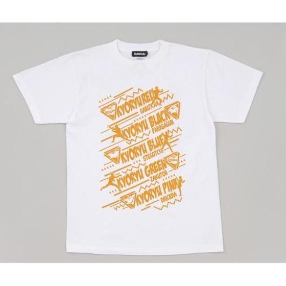 獣電戦隊キョウリュウジャー シルエット柄Tシャツ(獣電池付き)