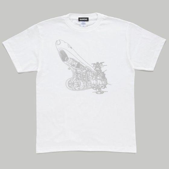 宇宙戦艦ヤマト2199 メカニック・シルエットデザインTシャツ