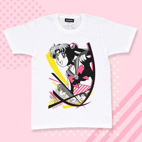 美少女戦士セーラームーン POPアート柄Tシャツ