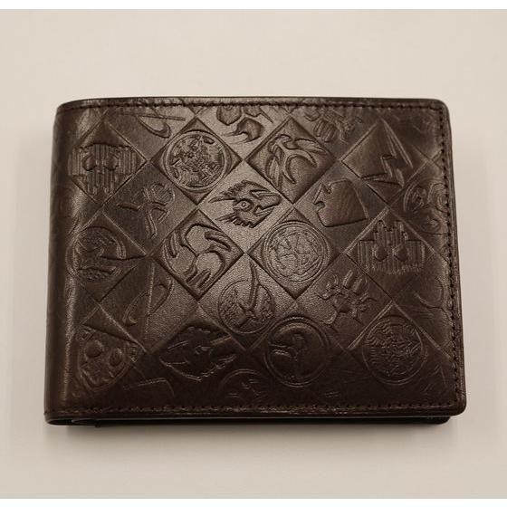 平成仮面ライダーシリーズ15作品記念 本革二つ折り財布