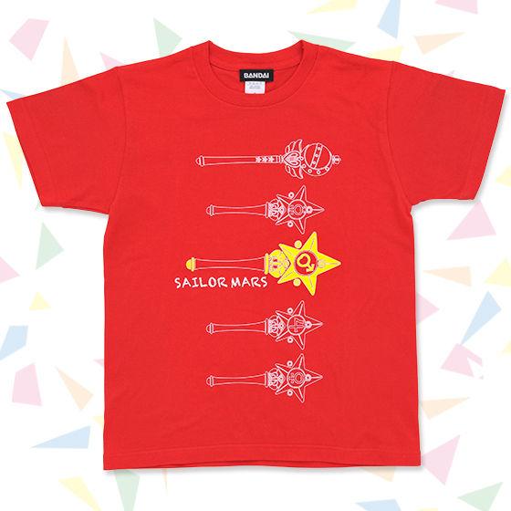 美少女戦士セーラームーン ライブTシャツ B(変身スティック柄)