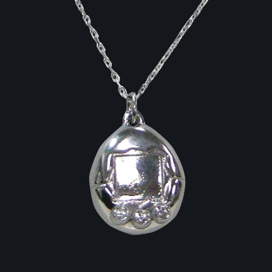 たまごっち Silver925 ジュエリーネックレス