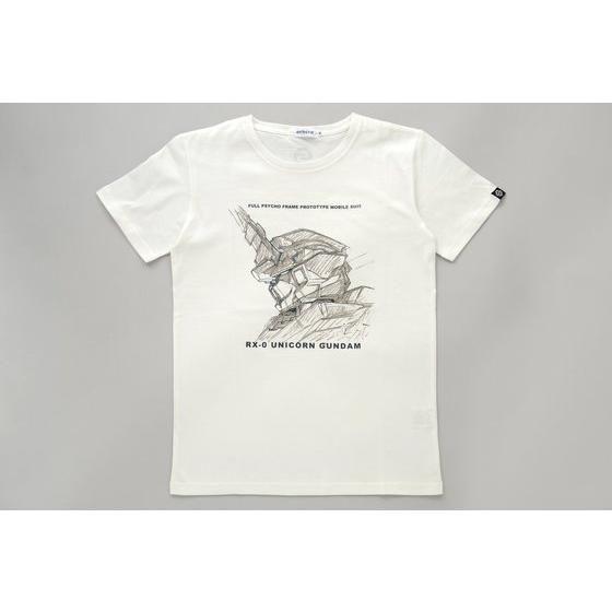 【STRICT-G】UC Tシャツ /ユニコーンガンダム横顔柄