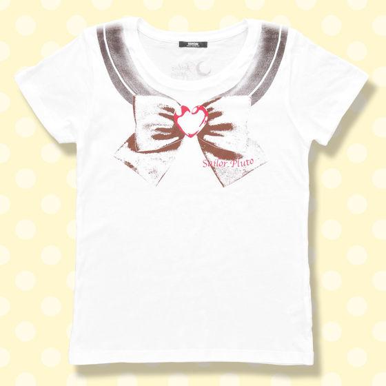 美少女戦士セーラームーン なりきりセーラーTシャツ(セーラープルート柄)