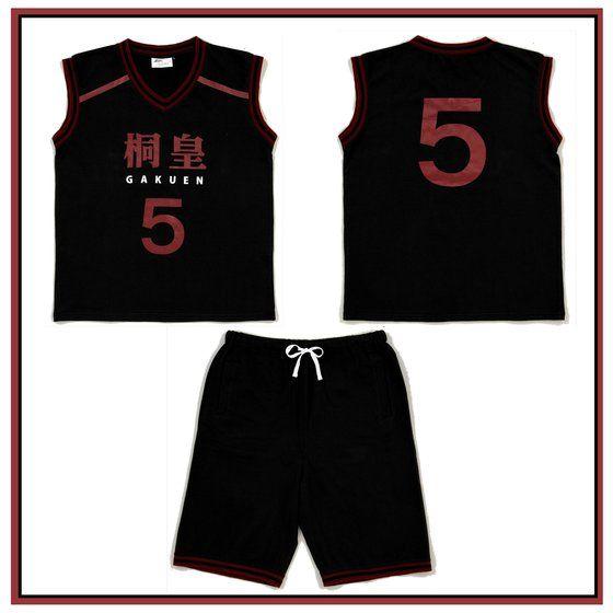 黒子のバスケ ユニフォーム風ルームウェア