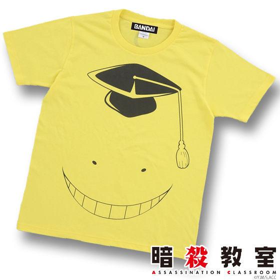 暗殺教室Tシャツ 殺せんせー ビックフェイス柄