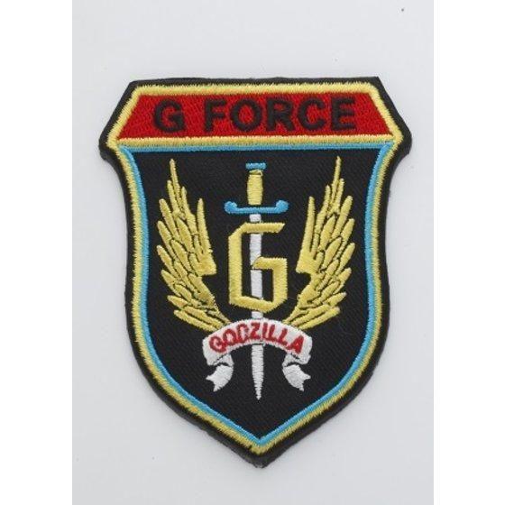 ゴジラ G-FORCEワッペン