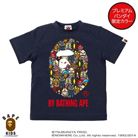 【A BATHING APE×ウルトラマンシリーズコラボ】 ULTRA MONSTERS BY BATHING APE TEE KIDS