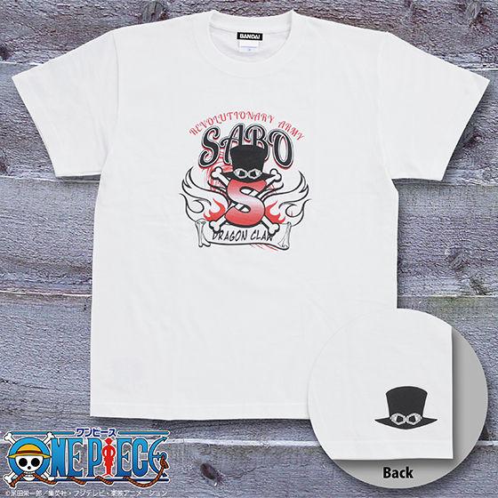 ワンピース サボTシャツ ロゴ柄