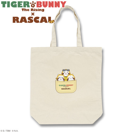 TIGER&BUNNY The Rising × RASCAL トートバッグ