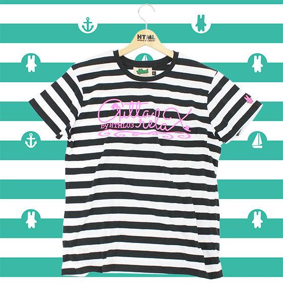 TIGER&BUNNY The Rising × HTMLコラボ ボーダーTシャツ<初回予約特典付>