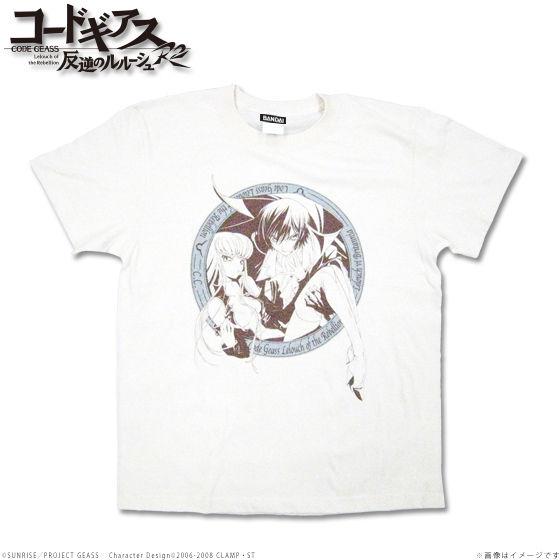 コードギアス 反逆のルルーシュR2 Tシャツ ルルーシュ&C.C.