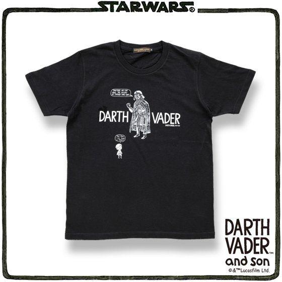 STAR WARS DARTH VADER and son Tシャツ(ダース・ヴェイダー)