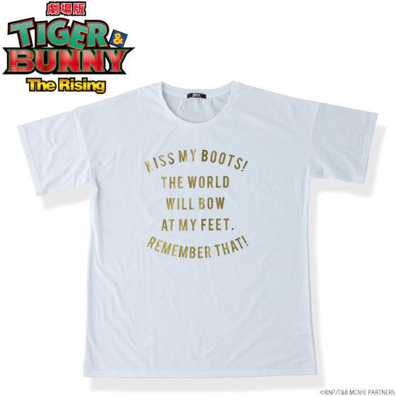 劇場版 TIGER & BUNNY -The Rising- ロゴTシャツ ライアンBOOT
